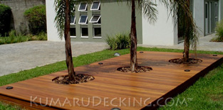 Do you want to create an ALL-NATURAL retreat? Well, Kumaru Decking is 100% natural and free of any chemicals.