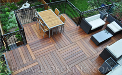 Our Kumaru Decking is one of the most beautiful decking options available!