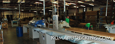 Our Kumaru Decking Mill